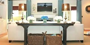 how to decorate a console table. Sofa Table Decorating Ideas Traditional With A How To Decorate Console E