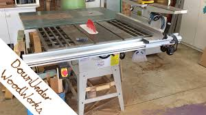 YouTube Hafco Woodmaster SB12 Table Saw Review