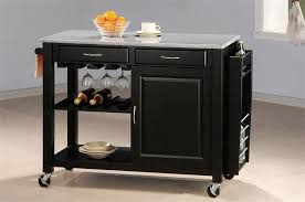 Bold Ideas Kitchen Island Cart Granite Top Carts Within Architecture