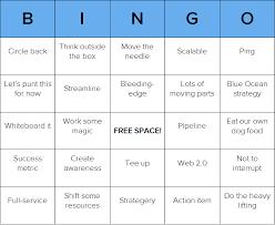 Ready To Play Some Business Babble Bingo Free Customizable Bingo