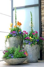 outdoor flower pots arrangements garden in a flower pot beautiful spring container planting in urns outdoor flower pot arrangements pictures outdoor fall