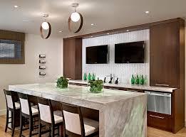 basement bar lighting. Best Modern Basement Bars Contemporary Bar With Cool Lighting Design Wood Inc E