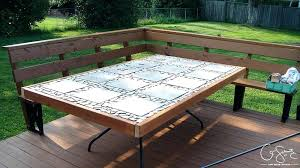 Diy patio table Small Related Post Mashhadtop Diy Patio Table Round Round Outdoor Table Plans Wooden Stylish With