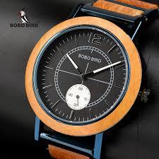 bobo bird lover s wooden watch