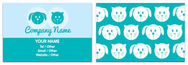 Pet Sitter Business Cards Pet Sitting Business Card Pet Sitter Business Card Animal Ideas