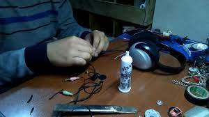 Kulaklık Kablosu Yenileme (En Kolay Yöntem) - YouTube