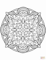 Animal Mandala Coloring Pages Example Mandala Coloring Page Pages