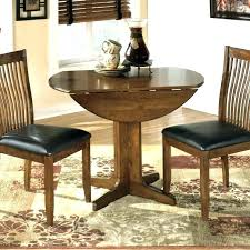 inch round table with leaf dining seats how many 48 erfly ta