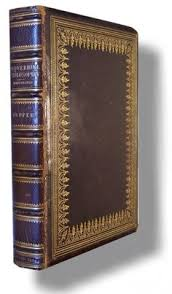 author name tupper martin f le proverbial philosophy binding leather book condition very good no jacket as issued