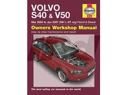 115416 haynes manual for p1 s40 v50