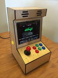 Raspberry Pi Game Cabinet I Made A Proper 43 Bartop Arcade Cabinet With An Old Ipad Lcd And