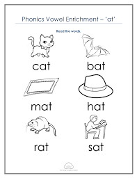 Free word family worksheets, flashcards, and simple cvc sentence printables! Best Free Kindergarten Cvc Worksheets Mr Greg S English Cloud