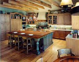 Rustic Looking Kitchens Guide To Build The Natural And Rustic Kitchens Island Kitchen Idea