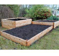 natural cedar raised beds gardening