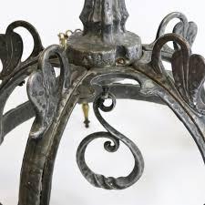 antique gothic chandelier sdn483562964 antique cast iron art nouveau arts crafts chandelier gothic hobnail glass 5 images
