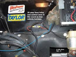wiring help needed unified tow brake on w 24 irv2 forums if you go to dales rv tips in my signature and look at rv tow brake you can see all the usg install photos