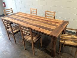 reclaimed wood farmhouse extendable dining table smooth finish with idea 3