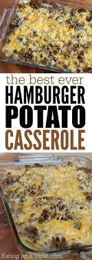 easy dinner ideas using hamburger meat. how to make hamburger casserole {easy recipe easy dinner ideas using meat