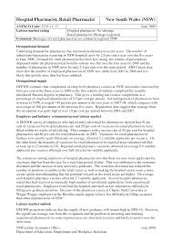 Retail Pharmacist Resume Sample Free Download Vinodomia