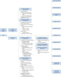 Netcom Org Chart Organization Chart Executives Corporate Information