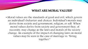 how technologies has led to moral decay 5 what is moral