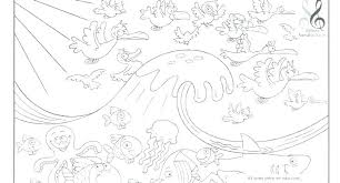 Creation Coloring Pages For Sunday School Creation Coloring Page