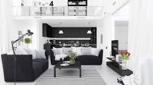 modern black white minimalist furniture interior. Full Size Of Living Room:black And White Color Minimalist Room Decor Livingroom N Modern Black Furniture Interior O
