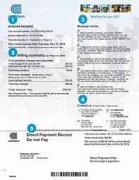 Sample Bill Residential Or Small Business Con Edison