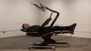 crazy office chairs. deskbed for people who canu0027t let go of their screens crazy office chairs o