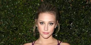lili reinhart says she used to do her makeup in the dark to avoid seeing her cystic acne self