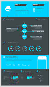 a few more creative ways to show experience - Creative Graphic Design  Resumes (Infographics)
