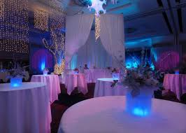 elegant decorations wedding table lights. Interior. Round Table With White Tablecloth Combined By Flower Bouquet On Glass Cube Having Elegant Decorations Wedding Lights B