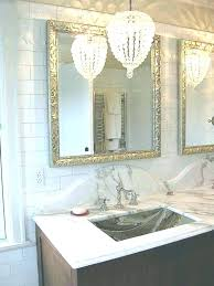 mini chandeliers for bathroom small chandelier kitchen vanity lights regarding overwhelming crystal chandelier bathroom