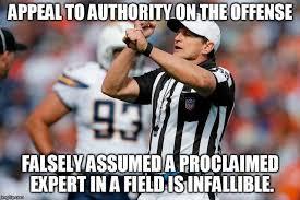 Logical Fallacy Referee | Know Your Meme via Relatably.com