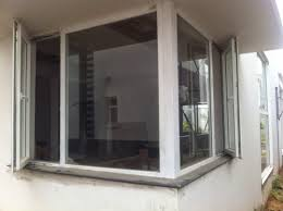 upvc corner fixed windows
