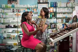 the cosmetics line which was introduced in january is trying to capture some of the s now going to imported brands
