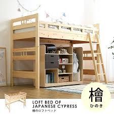 single loft bed loft beds kids bed kids single size wooden natural wood kids slatted single loft bed