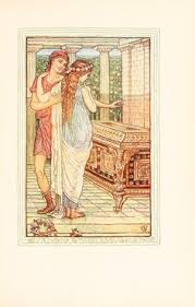 ilrations by walter crane taken from a wonder book for s and boys by nathaniel hawthorne published 1893 by houghton miffin