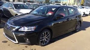 New Black On Rioja Red Lexus Ct Hybrid F Sport