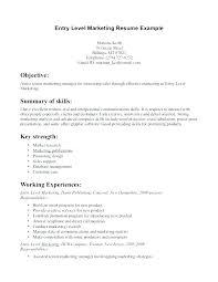 Sales Marketing Cv Great Marketing Resume Examples Sample Marketing Resume Examples