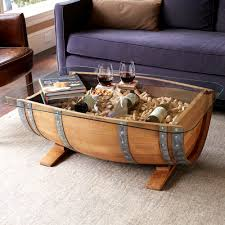 Wine barrell furniture Coffee Table Barrelstavecoffeetable10jpg Joss Main Recycled Wine Barrel Coffee Table
