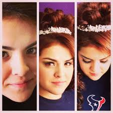 beautiful quinceanera hair and makeup