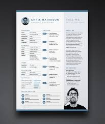 Free Resume Cv Template In Indd Photoshop Psd Word Docx Good Resume