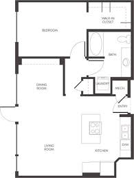 Pet Friendly 834 Square Foot 1 Bedroom 1 Bathroom Luxury Apartment Home  With Wood Plank