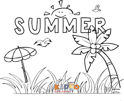 Our free coloring pages for adults and kids, range from star wars to mickey mouse. Coloring Pages Summer Coloring Pages For Kids Free Printable Of The Sun 4th July Summer Coloring Pages For Kids Uvanga Movie