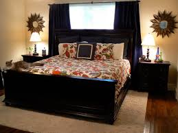 bedroom ideas with black furniture. Small Cozy Master Bedroom Traditional Decor Black Furniture Ideas With R