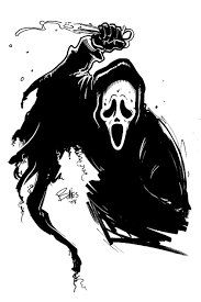 realistic ghost drawing. ghost face killah by mister-bones realistic ghost drawing