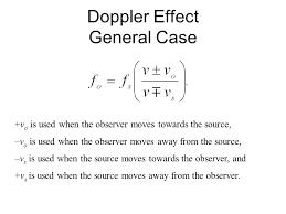 the doppler effect equation jennarocca