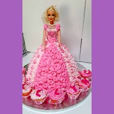 Birthday Cake For Girls Durban Barbie Cake Birthday Cakes Durban