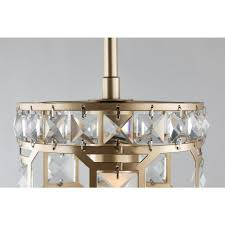Shop wayfair for the best champagne bronze light fixture. Fifth And Main Lighting Paris 1 Light Champagne Gold With Clear Crystal Mini Pendant Wl 2255 The Home Depot
